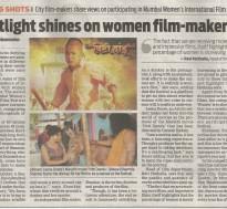 Spotlight shines on women film-maker