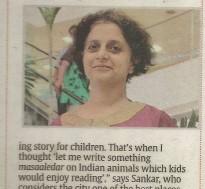 Sharmila Sankar moved to India fro San Francisco