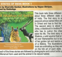 This book tells 3 stories about 3 different state animals of